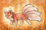 The Autumn Kitsune by Pharaonenfuchs