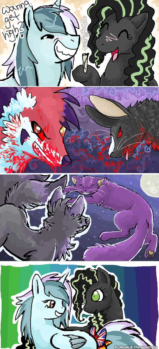 Hisuki iscribble session #1 by Pharaonenfuchs