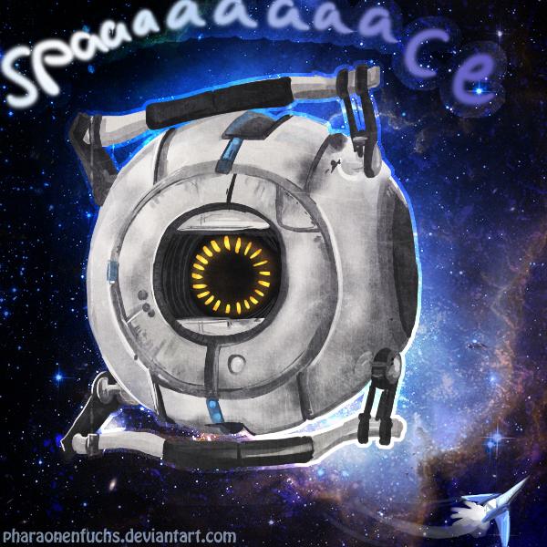 Space Core meets Arwing in SPAAAAACEEEE lol by Pharaonenfuchs
