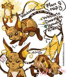 Flare Doodles by Pharaonenfuchs