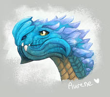 Aurene, dragon full of light