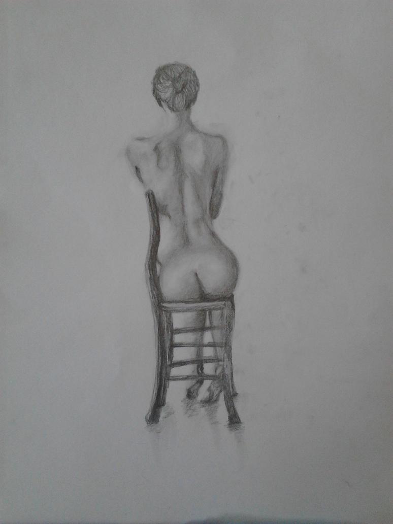 Womans Backanatomysketch By Rabvone On Deviantart