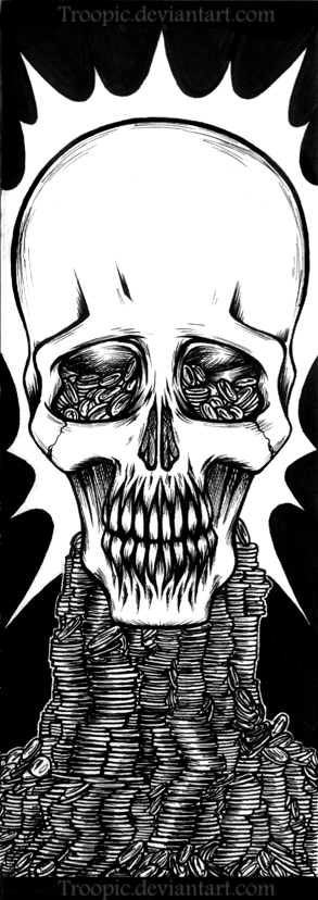The Skull by Troopic