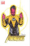Sinestro Sketch Cover
