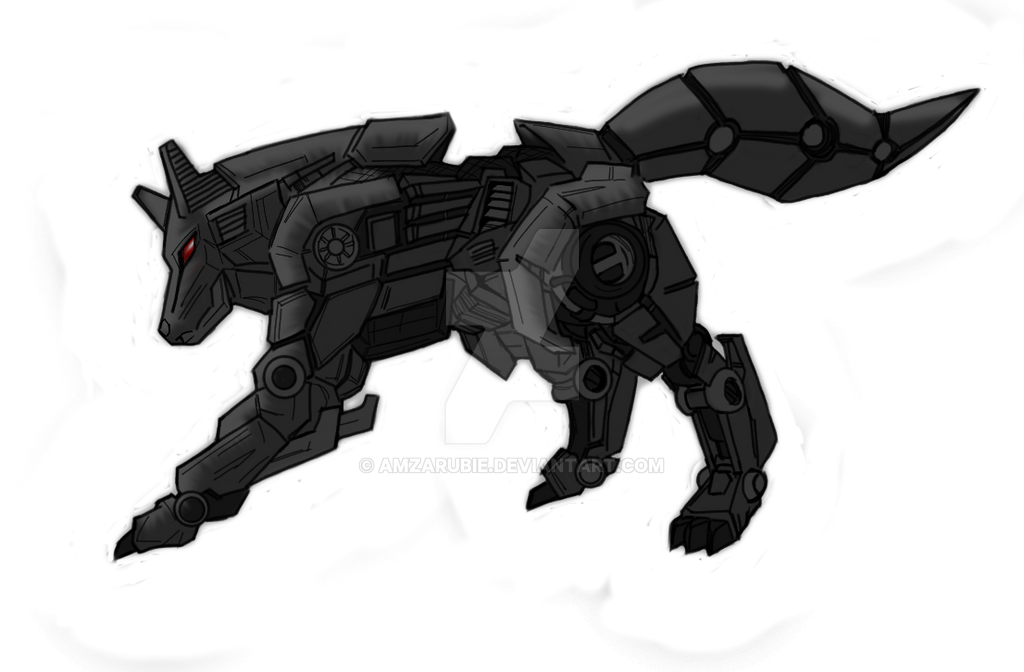 Robotic Wolf By AmzarUbie On DeviantArt
