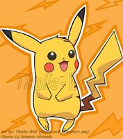 Pikachu by Tikalie-Wolf