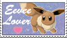 Eevee lover by Tikalie-Wolf