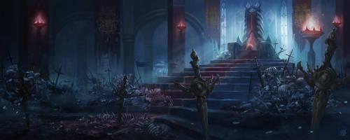 Phayne's Throne Room by YUU0519