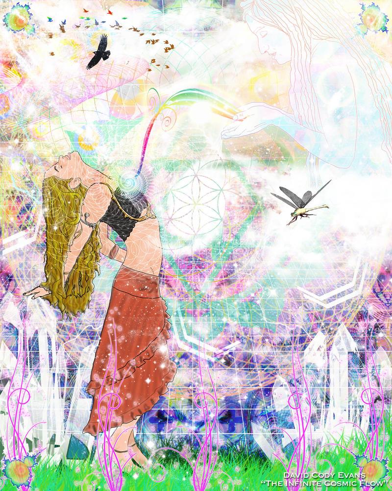 The Infinite Cosmic Flow by sageman2012