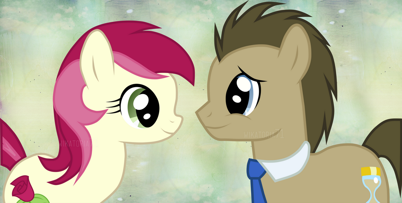 Doctor Whooves And Roseluck By Wikatoria71 On DeviantArt