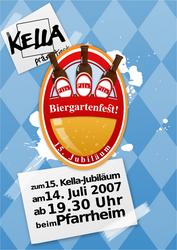 Biergarten - Beer Garden Flyer by MrTentacleguy