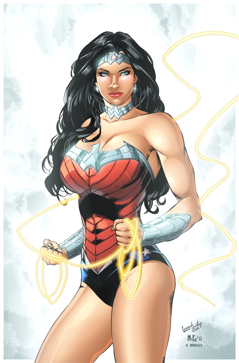 Wonder Woman by Mike and Leo colored by Dany-Morales