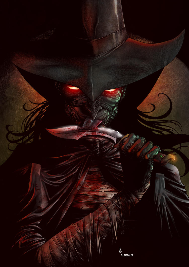 WICKED WITCH by Alisson Borges colored by Dany-Morales