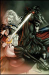 LADY DEATH by Bernard and Mayer colored