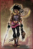 Michone by Sandoval and Copo colored by Dany-Morales