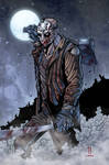 JASON VOORHEES print by Puis Calzada colored