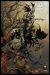 THE DARKNESS by Silvestri/Wong colored
