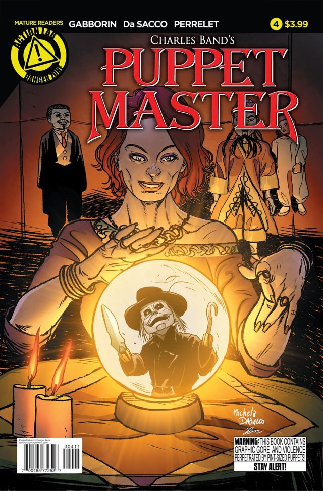 Puppet master issue #4 main cover colored by Dany-Morales