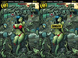 Zombie tramp issue #19 covers by Dany-Morales