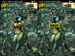 Zombie tramp issue #19 covers