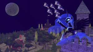 [SFM] Nightmare Moon Returns 4K