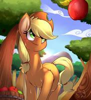 Applejack by PassigCamel
