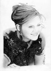 Kirsten Dunst by GAttkins