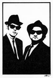 Blues Brothers by GAttkins