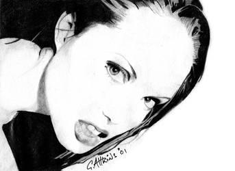 Angelina Jolie by GAttkins