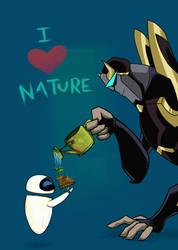 naturebots by Metallikato