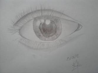 Eye - first attempt by The-navet
