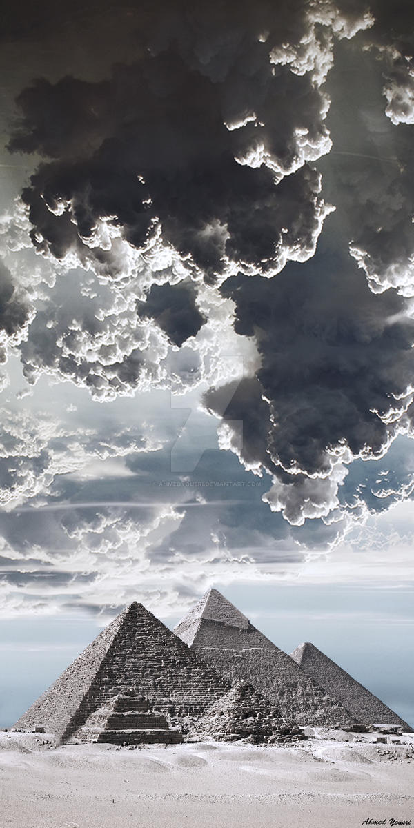 The Pyramids of Giza by ahmedyousri