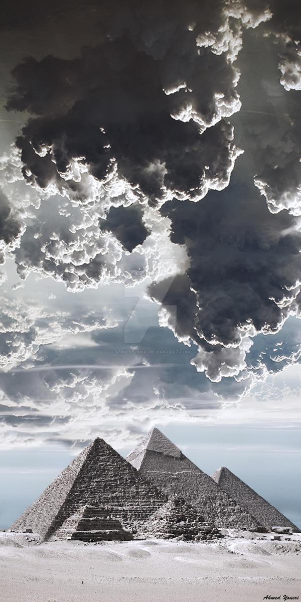 The Pyramids of Giza by ahmedyousri