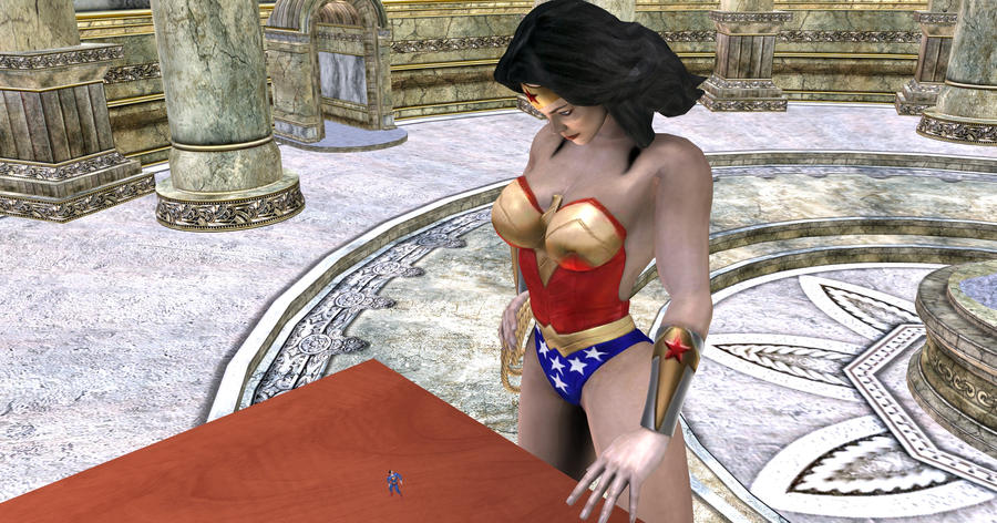 WonderWoman-Superman_Bonus4 by mynameisJunk