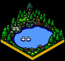 Swan Lake by Estok