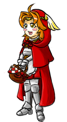 Little Red Riding Hood the Paladin Baker by Estok