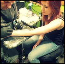 Getting inked- by StarStrukKitten