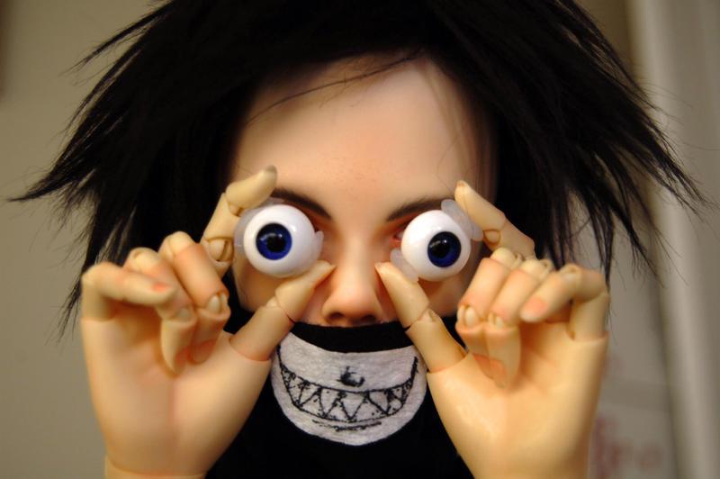 Ashley Batty-eyes by Flayrah