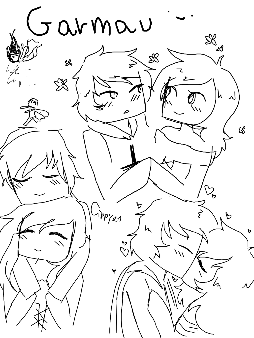 Travis from aphmau coloring pages coloring pages for Aphmau coloring page
