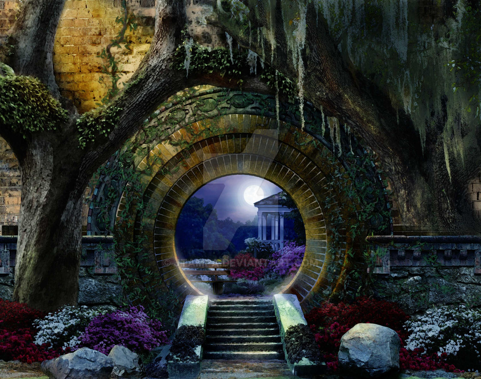 Attractive ... Garden Of The Moon Art Revised By JTampa
