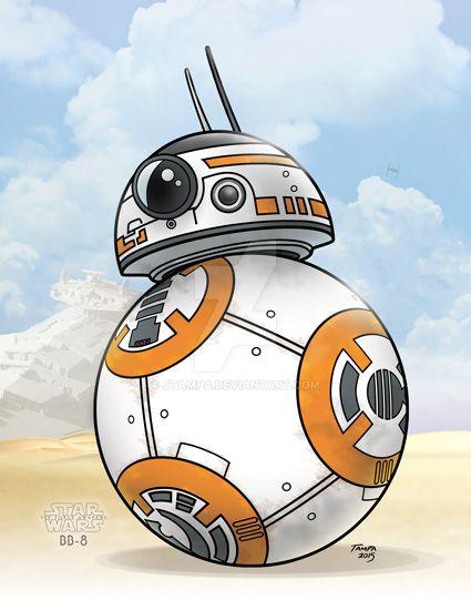 BB-8 on Jakku by JTampa