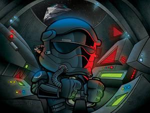 The Force Awakens TIE Pilot