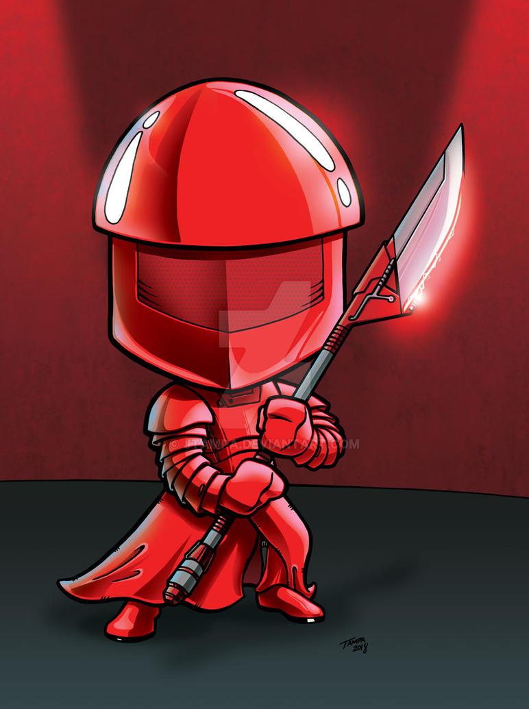 Elite Praetorial Guard from The Last Jedi by JTampa