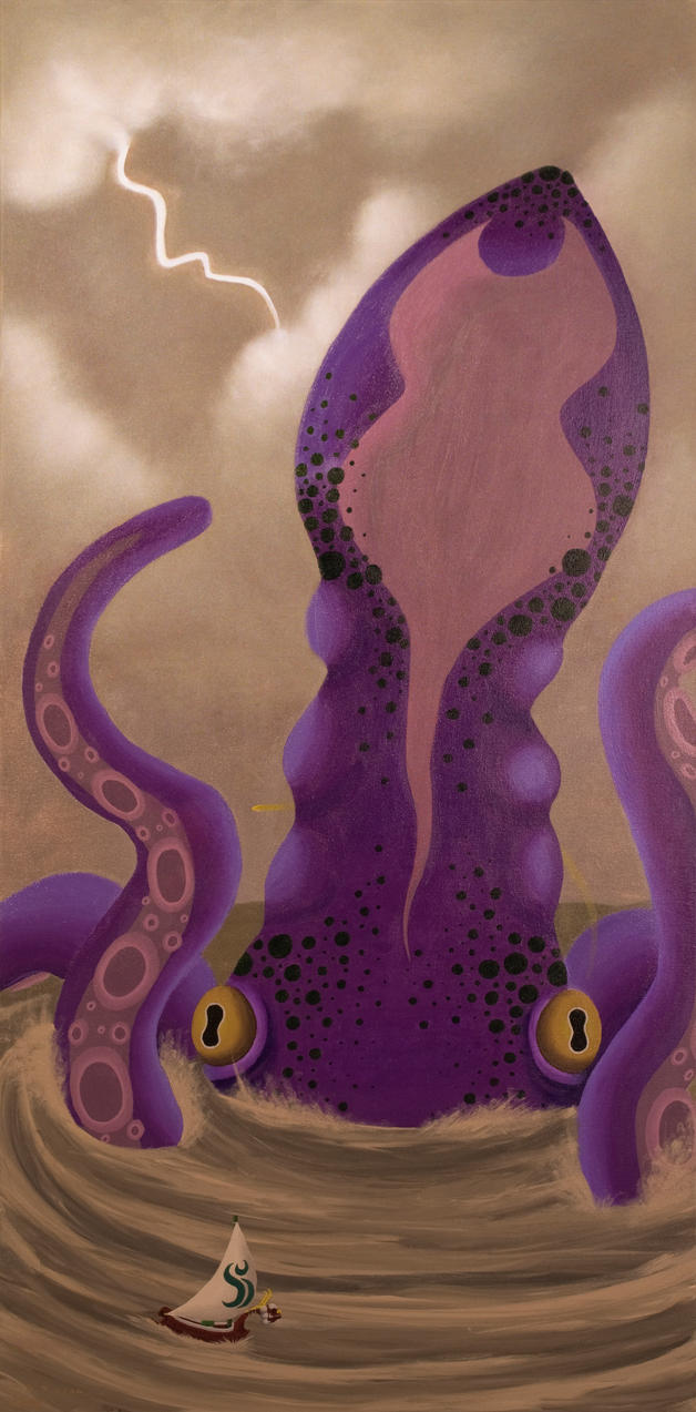Attack of the Giant Octo Squid by SyraCourage
