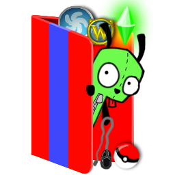Games Folder Icon Gir By Yogami On Deviantart