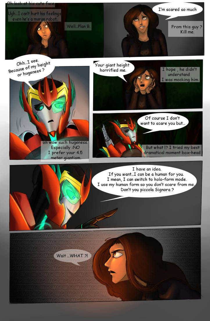 TFP : The Energy (FanComic) Chapter 5 - PG 8 by