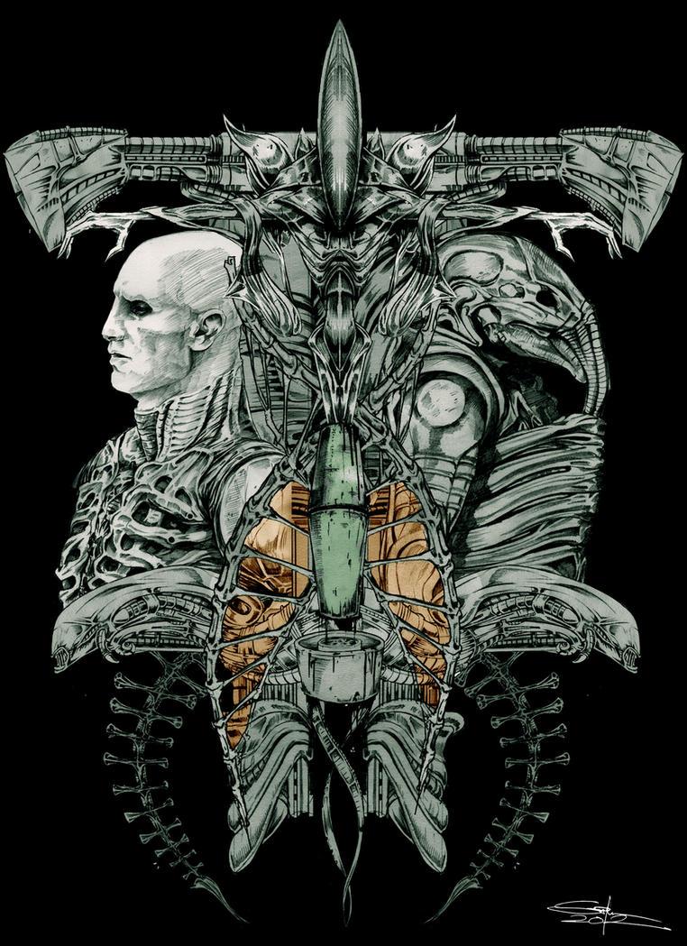 Pictures of Prometheus Alien Evolution - #rock-cafe