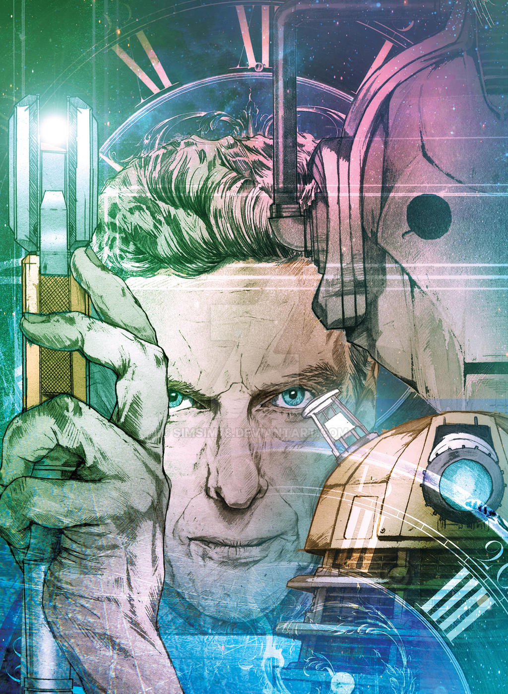 Timelord 12 by simsim78