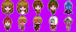Skyward Sword icons by hara-reita