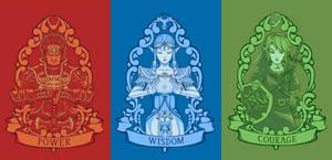 Power, Wisdom, Courage